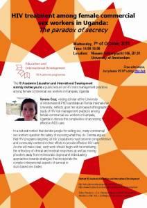Invitation lecture Serena Cruz